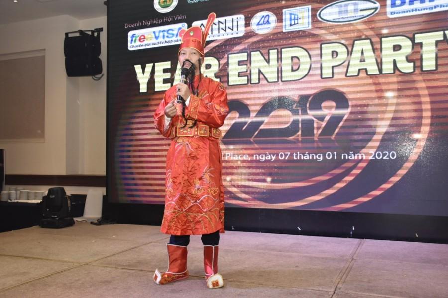 Ông Trần Ngọc Anh - Tuyên bố khai mạc chương trình
