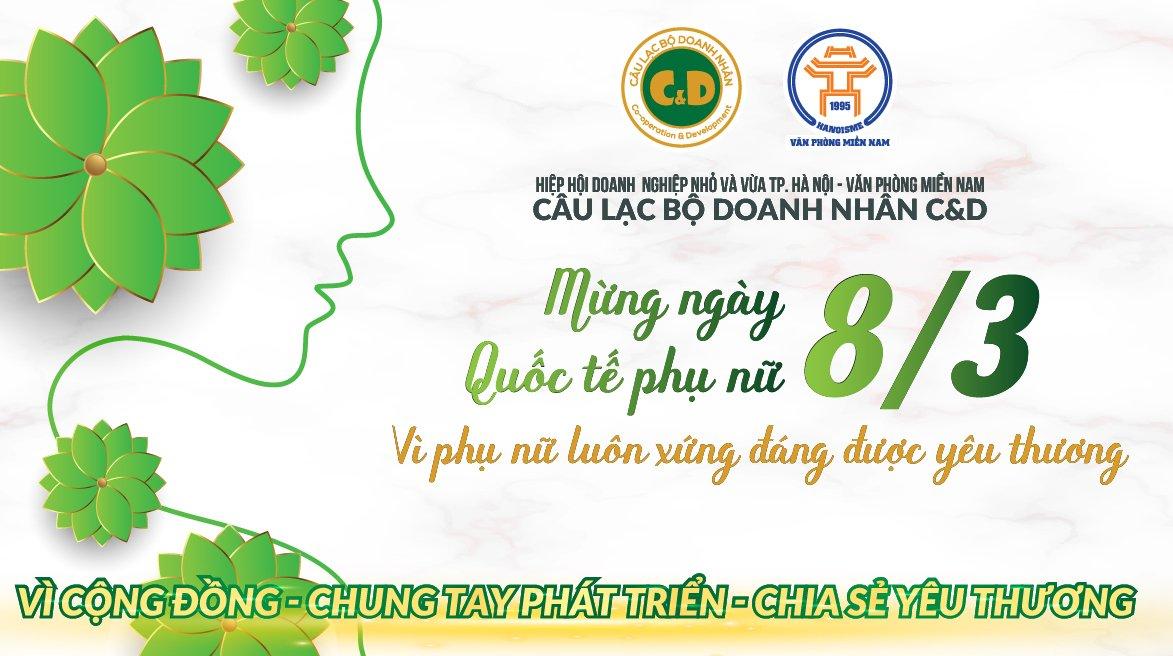 C&D chúc mừng ngày quốc tế phụ nữ